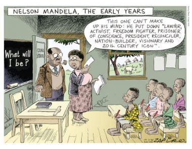 Zapiro Sydafrika i bilder – Tecknad satir över fem decennier13/10 – 4/12, 2016